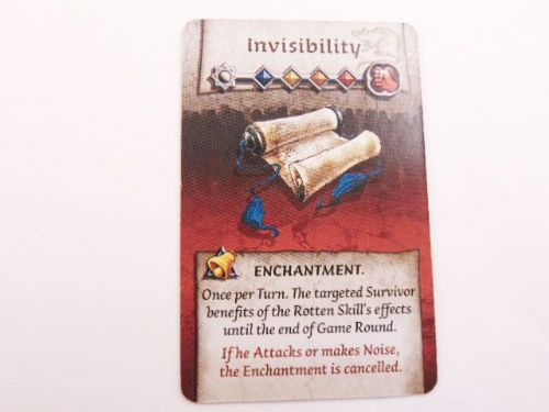 survivor encharntment card (invisibility)